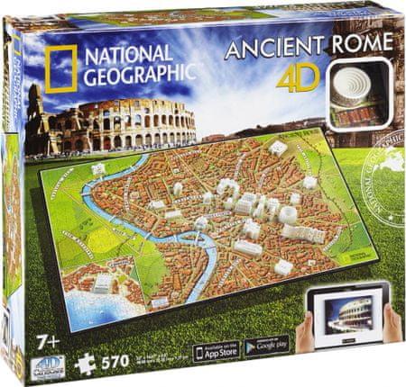 4D Cityscape Ókori Róma 4Dimenziós Puzzle
