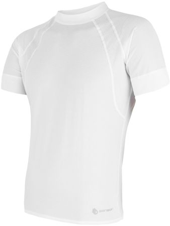 Sensor Coolmax Fresh Air pánské triko kr.ruk. Bílá S