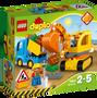 2 - LEGO DUPLO 10812 Tovornjak in bager