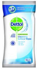 Dettol Antibakteriális felület tisztító törlőkendő 36 drb