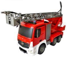 Fleg RC wóz strażacki Mercedes-Benz
