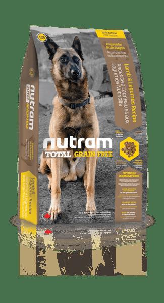 Nutram Total Grain-Free Lamb & Legumes, Dog 13,6kg
