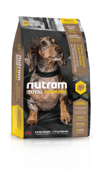 Nutram Total Grain Free Turkey Chicken Duck, Dog Small Breed 6,8 kg