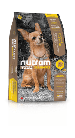 Nutram Total Grain Free Salmon & Trout Recipe Natural Dog Food, Small Breed 2,72 kg
