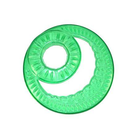 Argi frizbi z odprtino, zelen