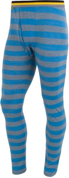 Sensor Merino Wool Active pánské spodky Modrá Pruhy XL
