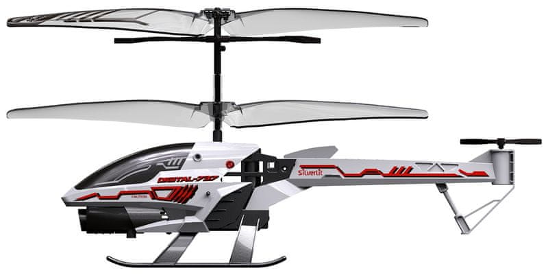Silverlit R/C helikoptéra Spy Cam III (s kamerou) bílá