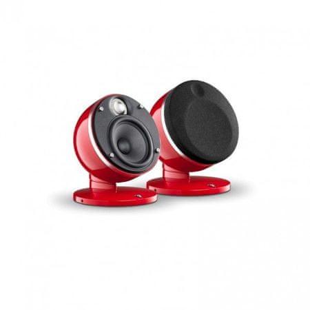 Focal par satelitskih zvočnikov Dôme Pack 2.0, rdeči