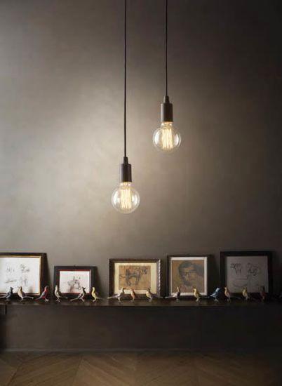 Ideal Lux Edison 113302 Függőlámpa, Fehér