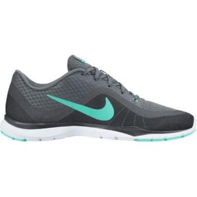 Nike športni copati Wmns Flex Trainer 6, siva/turkizna, 38,5