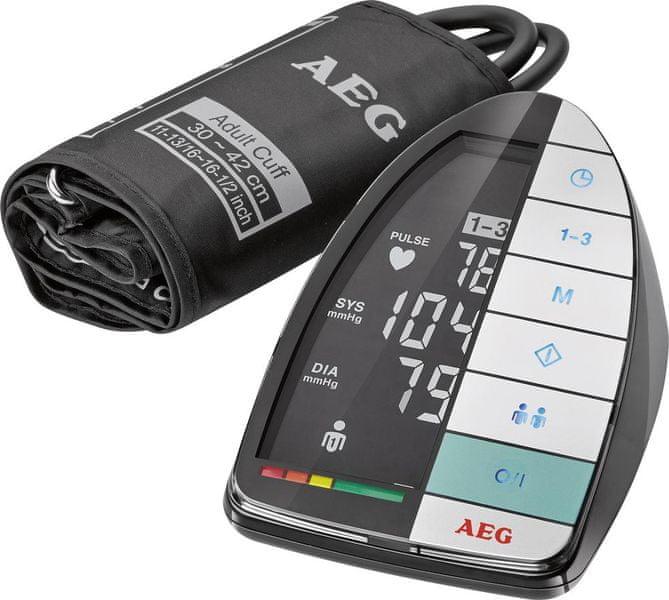 AEG BMG 5677 Měřič krevního tlaku
