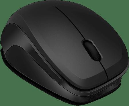 Speedlink brezžična miška Ledgy, črna