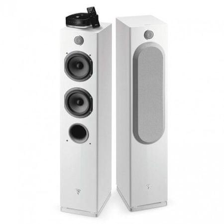 Focal par brezžičnih Hi-Fi zvočnikov Easya, sveteleče beli
