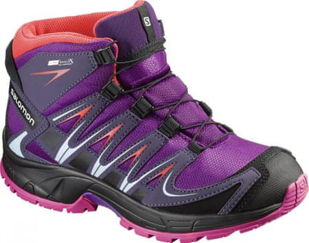 Salomon otroški zimski čevlji Xa Pro 3D Mid Cswp J, vijolični, 36
