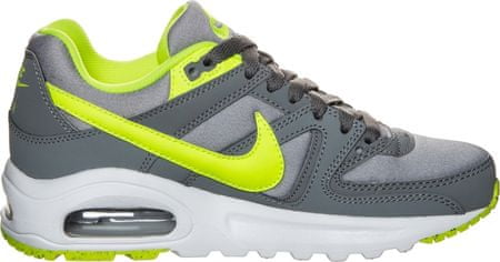 Nike Air Max Command Flex GS Cool Grey/Neon/Wolf Grey 40