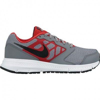 Nike športni copati Downshifter 6 GS/PS Jr, otroški, sivo-rdeči, 31