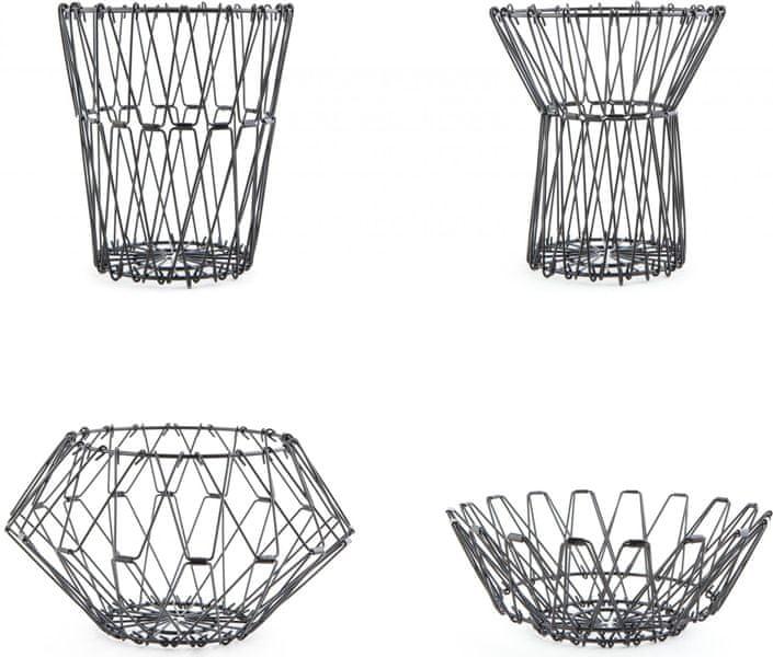 Kikkerland Multifunkční skládací košík