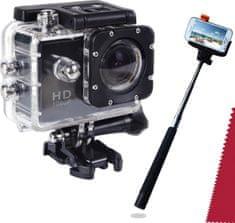 C-Tech MyCam 250 Wide + Selfie tyč a čistící utěrka ZDARMA!
