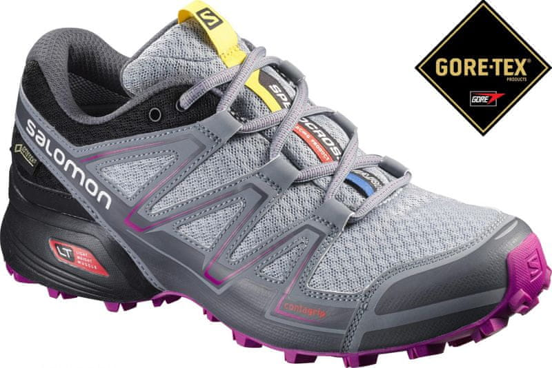 Salomon Speedcross Vario Gtx W Light Onix/Black/Dalhia 37.3