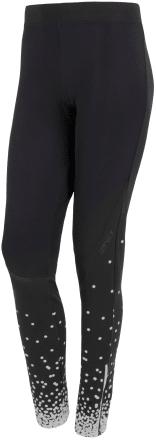 Sensor Kalhoty Dots dlouhé dámské Černá/Bílá XL