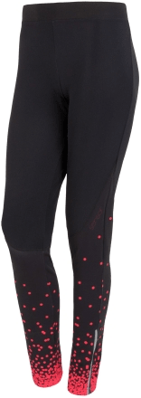 Sensor Kalhoty Dots dlouhé dámské Černá/Růžová M