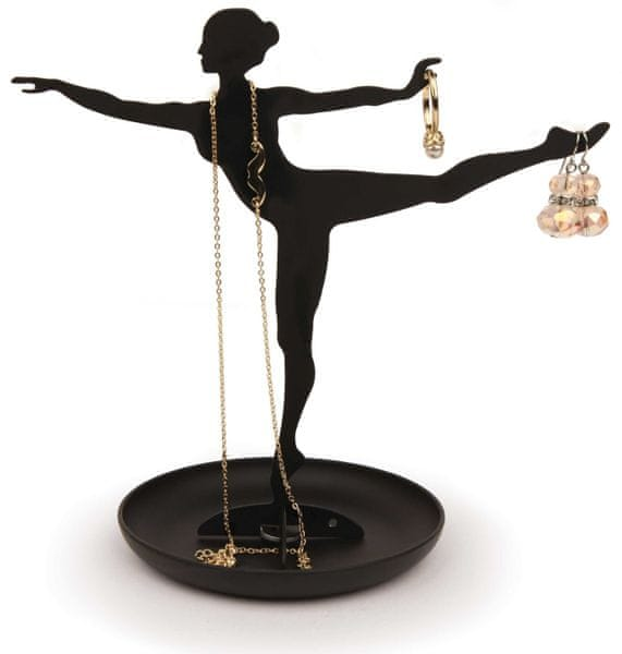 Kikkerland Stojan na šperky Ballerina