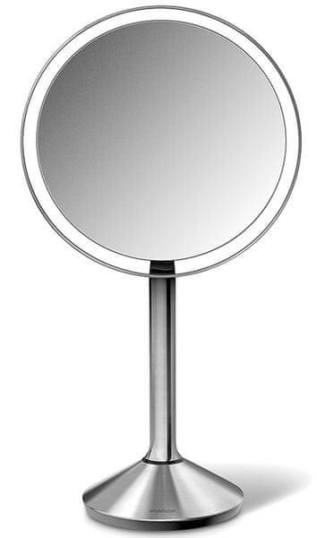 Simplehuman Senzorické kosmetické zrcátko s Tru-lux LED osvětlením, 7x zvětšení