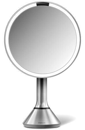 Simplehuman Senzorické kosmetické zrcátko s Tru-lux LED osvětlením, 5x zvětšení