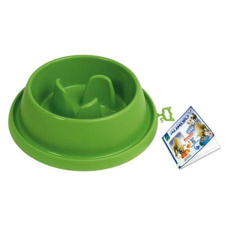 Argi posoda za preprečevanje prehitrega hranjenja, zelena