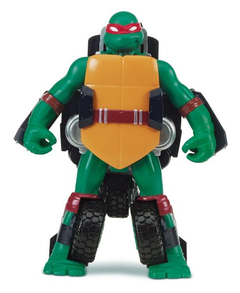 Želvy Ninja Transform to vehicle Raphael