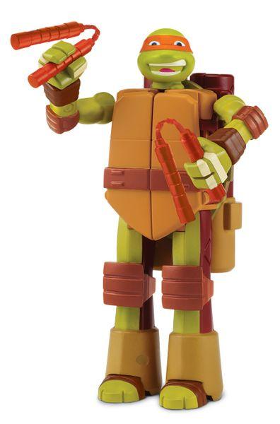 Želvy Ninja Transform to weapon Michelangelo