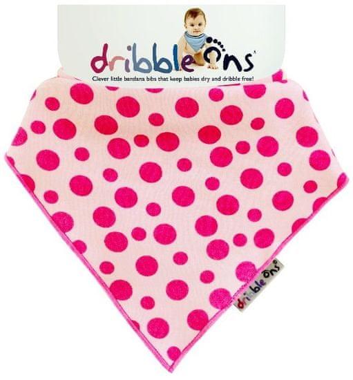 XKKO Dribble Ons Designer Pink Spot