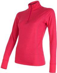 Sensor Merino Wool Active dámské triko dl.ruk. stoják zip