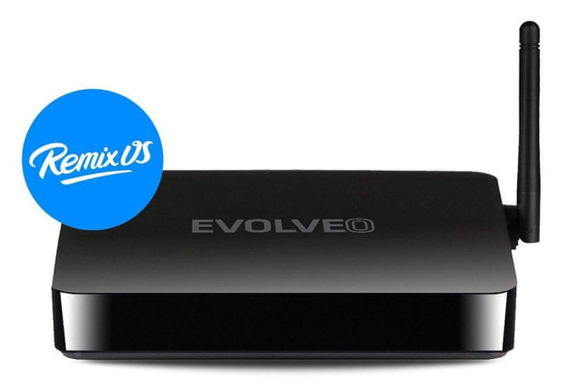 Evolveo Android Box Q5 4K - REMIX OS - II. jakost