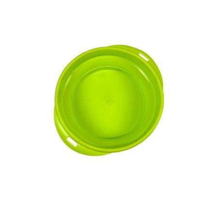 Argi silikonska potovalna posoda, 700 ml, zelena