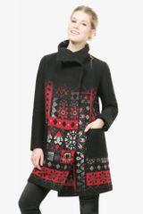 Desigual płaszcz damski