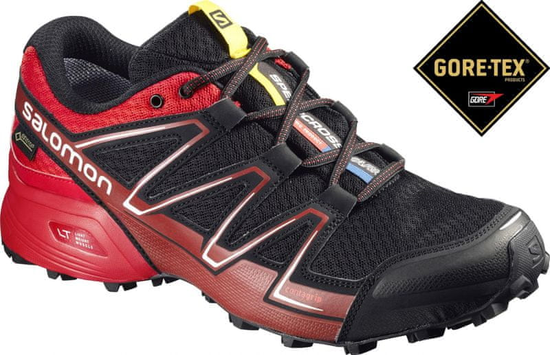 Salomon Speedcross Vario Gtx Black/Red/Brique-X 44.0