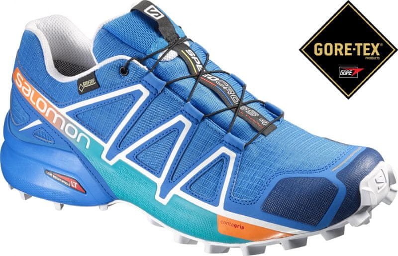 Salomon Speedcross 4 Gtx Bright Blue/Union Blue/White 43.3