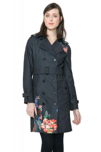 Desigual dámský kabát 36 černá