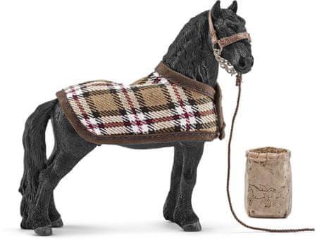 Schleich Starostlivosť o koňa Frisianského 42269