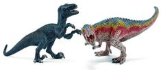 Schleich figuri T-rex in Velociraptor