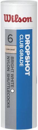 Wilson zestaw lotek Dropshot 6 Tube White