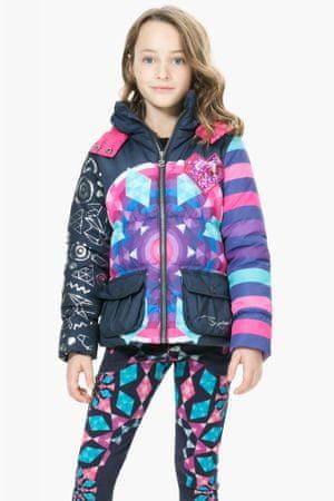 Desigual dívčí bunda 152 vícebarevná