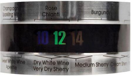 Kikkerland Termometer za steklenico vina