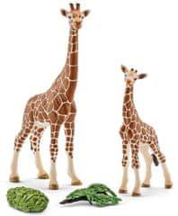 Schleich Žirafia samica s mláďaťom 42320