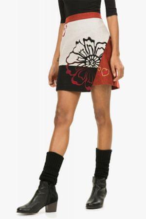 Desigual dámská sukně 42 červená
