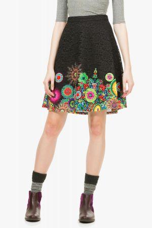 Desigual dámská sukně 42 černá