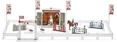 Schleich konjeniški turnir s konji, velik komplet