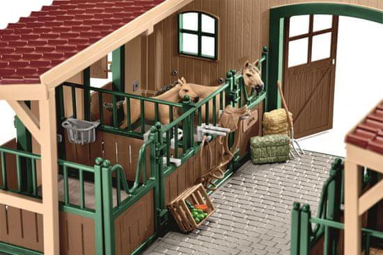 Schleich jahalni center z jahačem in konji