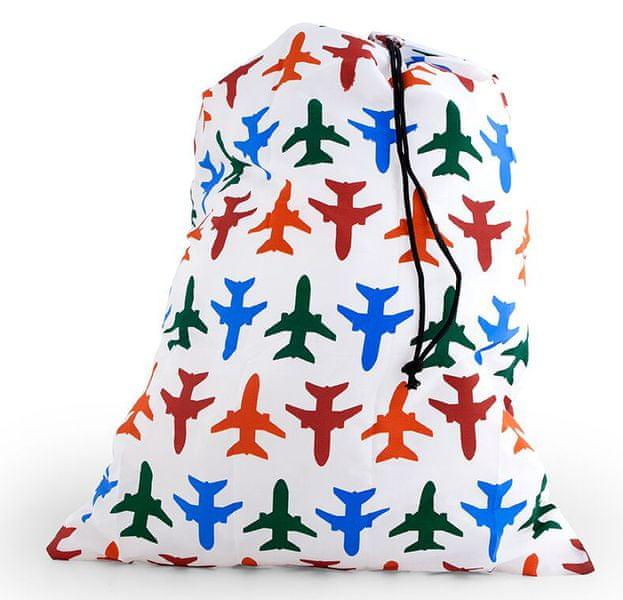 Kikkerland Skládací cestovní taška na prádlo Airplane